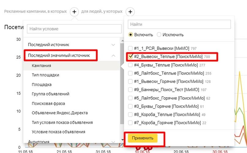 Анализ трафика в Яндекс.Метрике – последний значимый источник