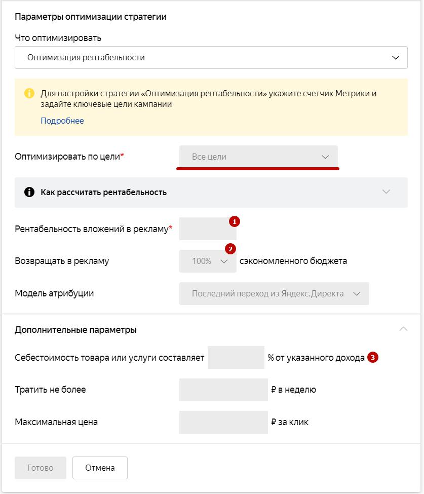 Автостратегии Яндекс.Директ – оптимизация рентабельности