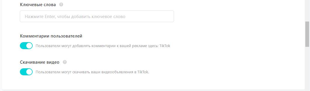 Реклама в TikTok – описание продукта в ключевых словах