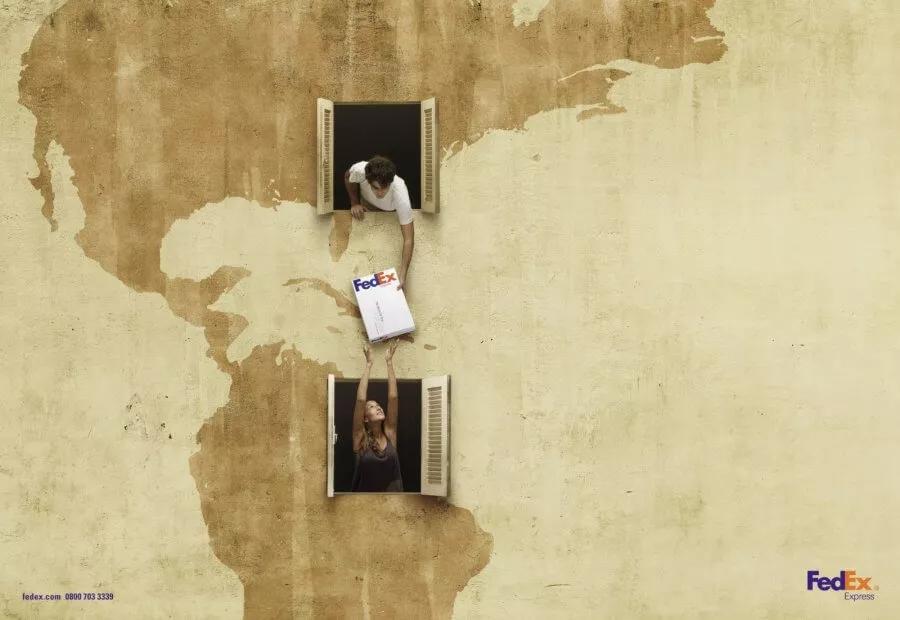 Креативная реклама – FedEx