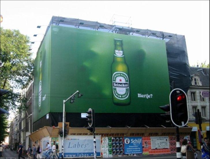 Креативная реклама – Heineken
