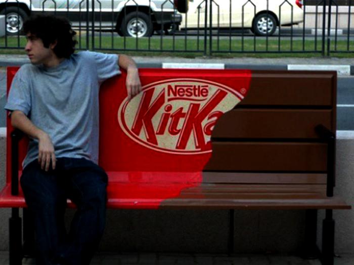 Креативная реклама – KitKat