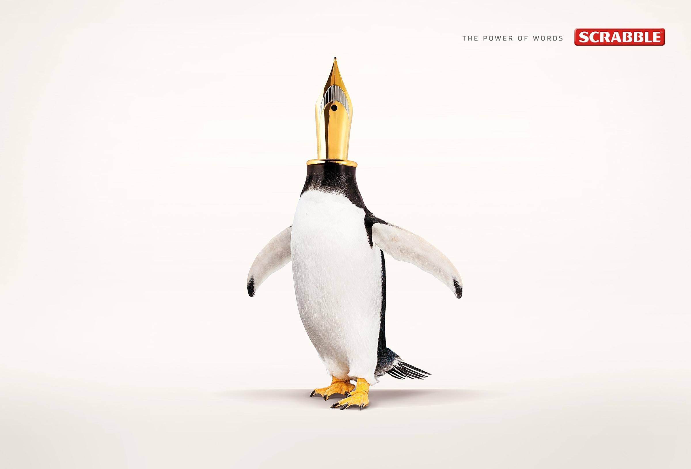 Креативная реклама – scrabble 3