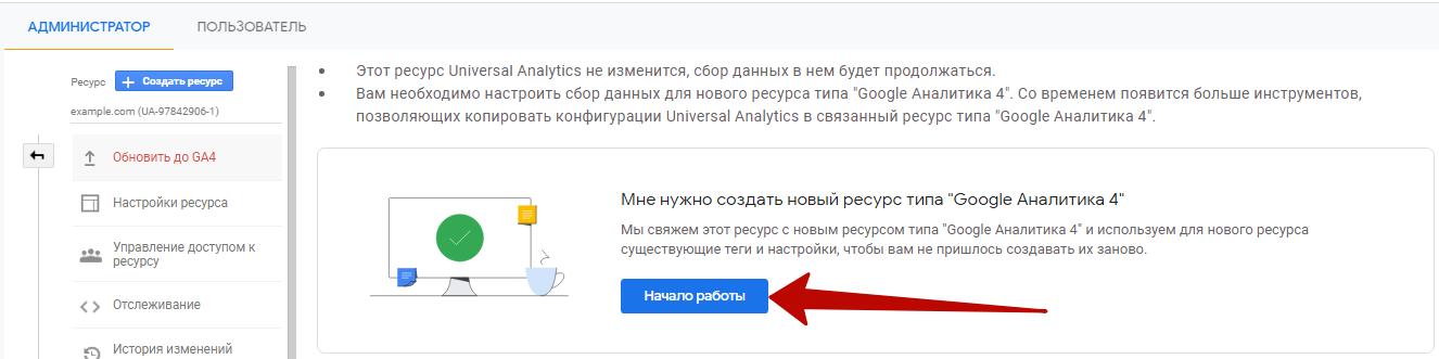 Google Analytics 4 – начало работы с Google  Analytics 4