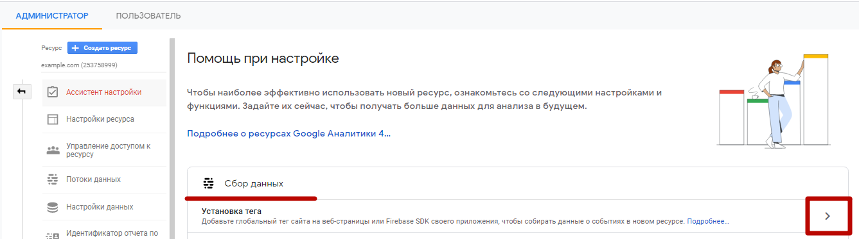 Google Analytics 4 – сбор данных