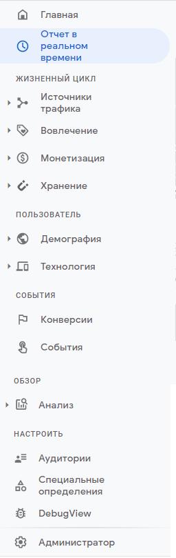 Google Analytics 4 – обновленный интерфейс
