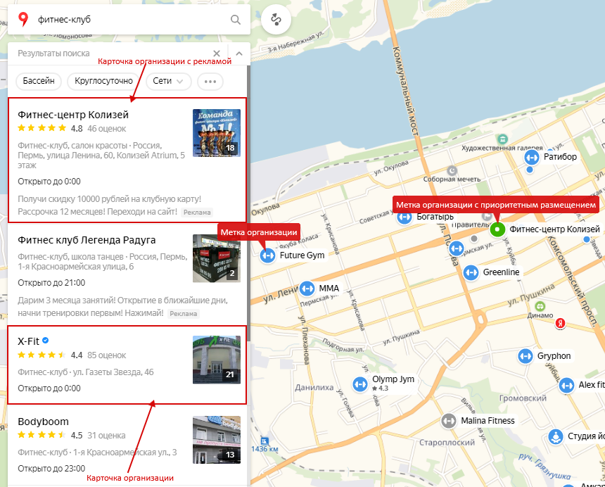 Способы продвижения товара – размещение в Яндекс.Картах