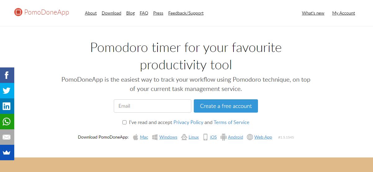 Повышение продуктивности – Pomodone