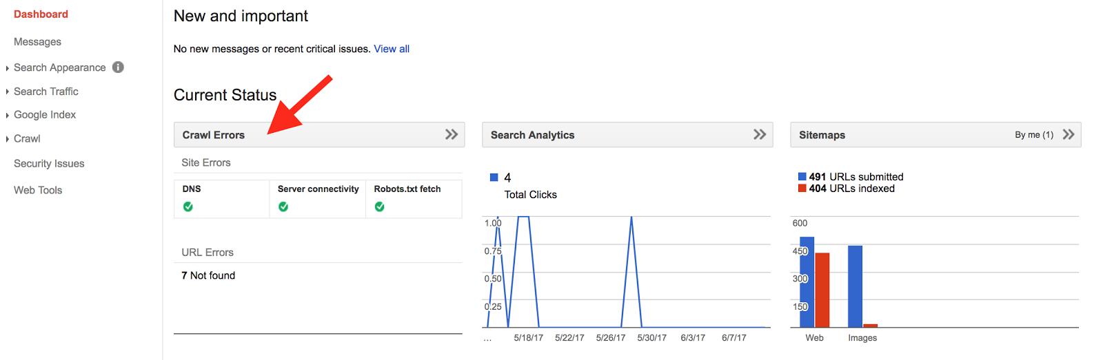 SEO оптимизация – поиск ошибок сканирования в Search Console