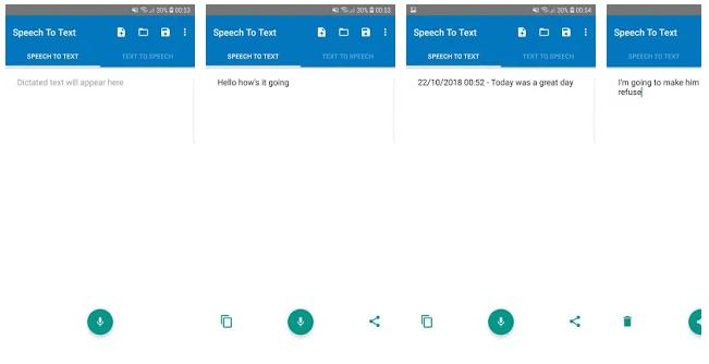 Полезные приложения – Speech to Text