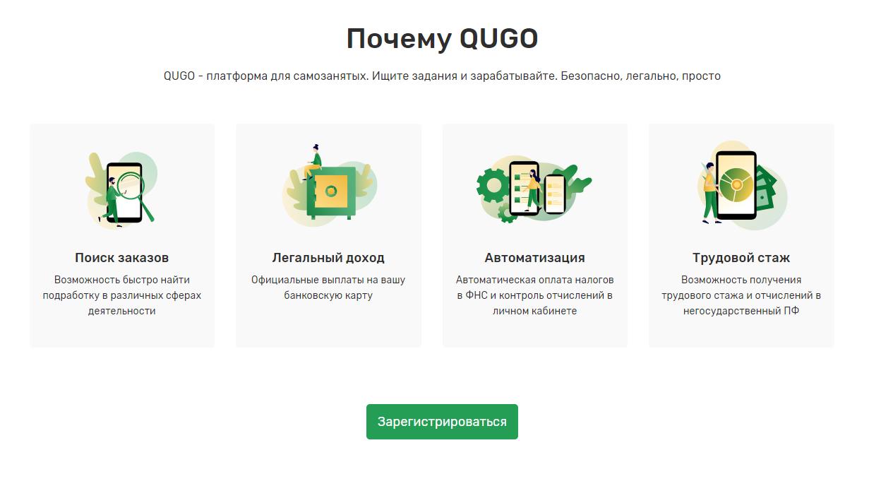 Преимущества Qugo