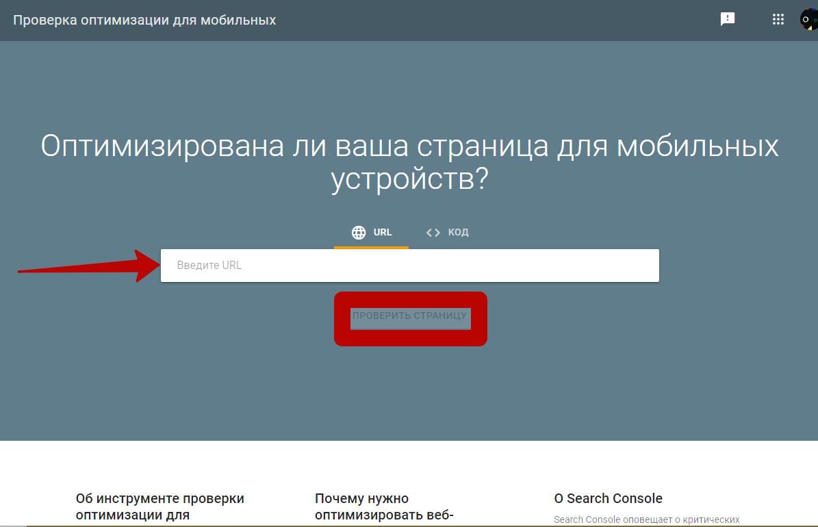 Поведенческие факторы на сайте – «Mobile friendly» тест от Google