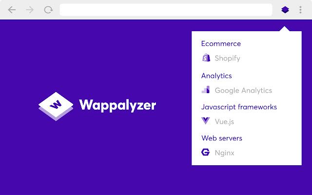 Расширения для браузеров – Wappalyzer