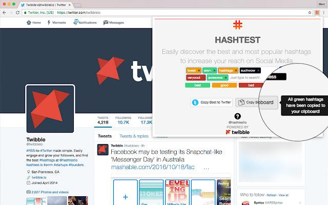 Расширения для браузеров – HashTest