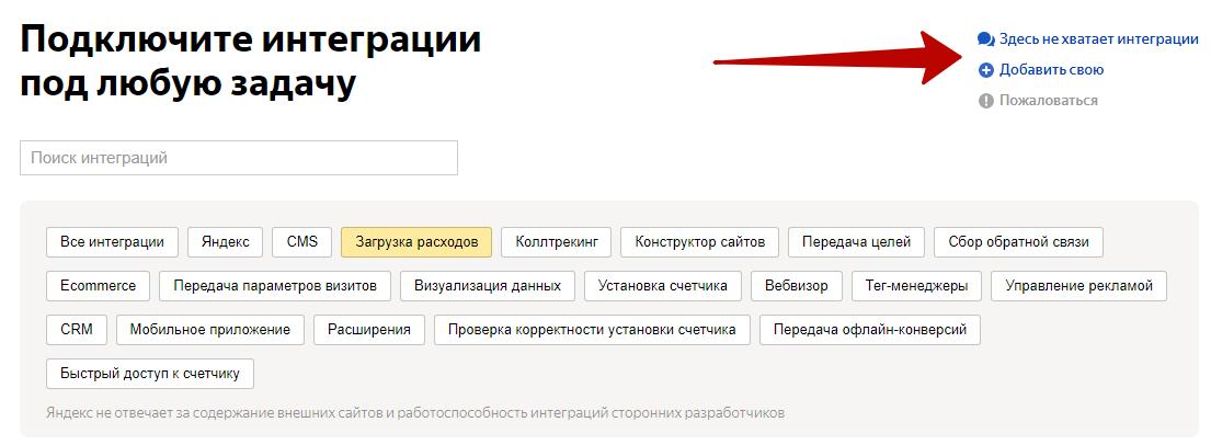 Сквозная аналитика в Яндекс.Метрике – подключение интеграций под задачи