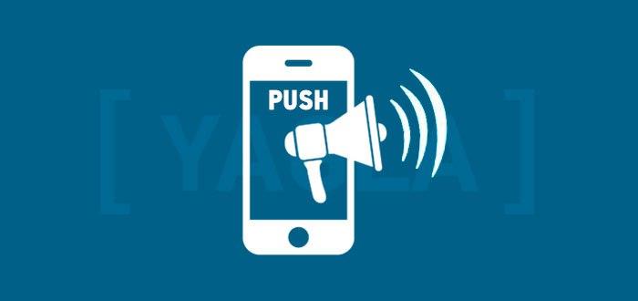 Push уведомления в мобайле