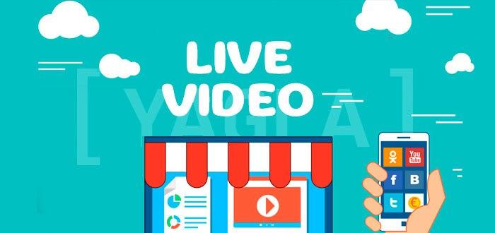 live видео в социальных сетях