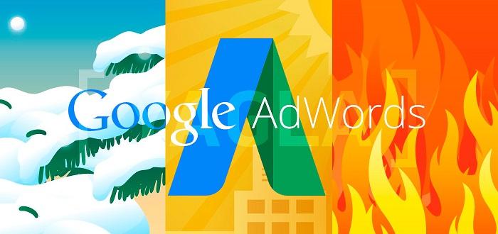Ключевые слова в AdWords