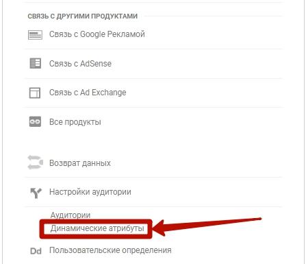 Динамический ремаркетинг Google – динамические атрибуты в Google Аналитике
