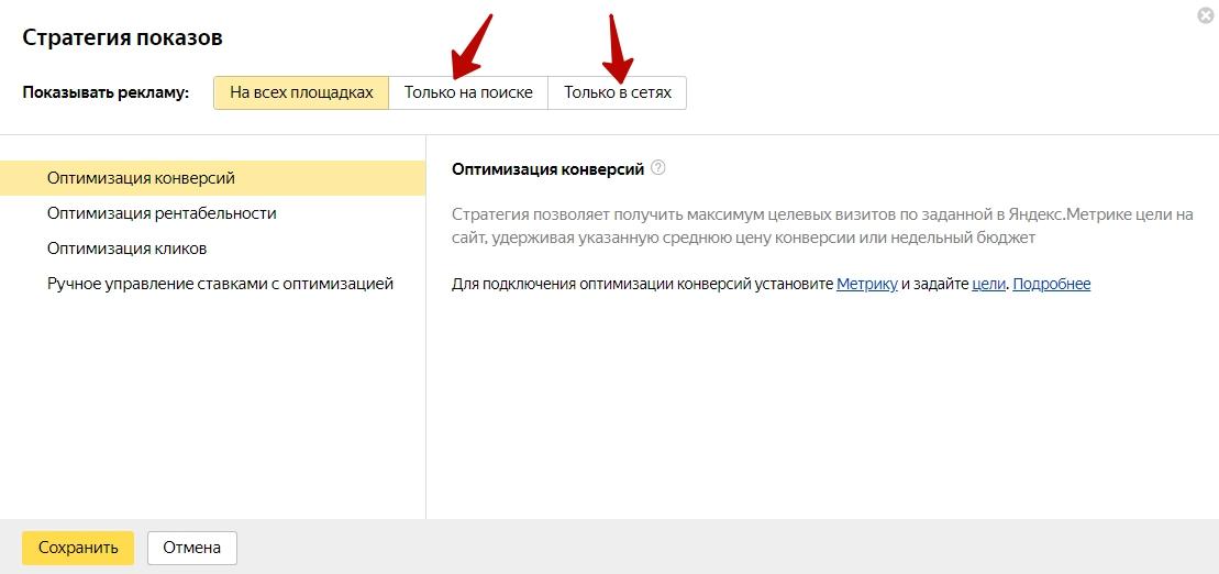 Стратегии управления ставками Яндекс.Директ – список стратегий