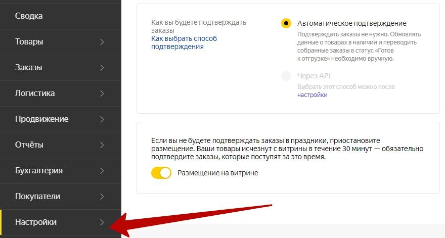 Как работает Яндекс.Маркет – подтверждение заказов
