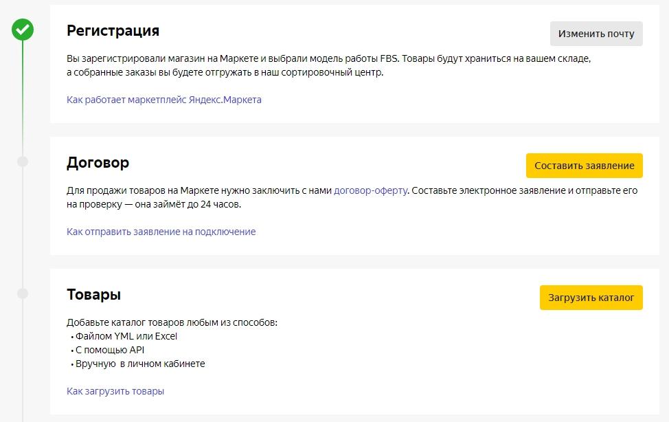 Как работает Яндекс.Маркет – регистрация, договор, товары