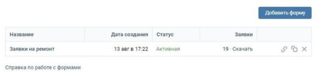 Сбор заявок ВКонтакте — кейс по ремонту и отделке квартир, результат