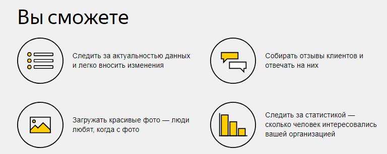 Геореклама в Яндексе — возможности сервиса Яндекс.Справочник