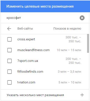Планировщик КМС – примеры сайтов