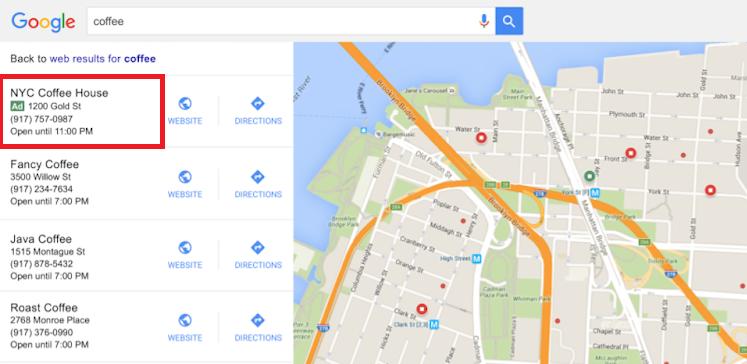 Реклама в Google Картах – местная реклама в сервисе Карт с компьютера