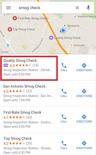 Реклама в Google Картах – местная реклама в мобильном приложении Google Карты