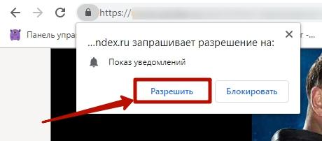 Виды ретаргетинга – включение push-уведомлений в браузере