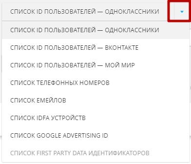 Аудитории в myTarget – источники данных о пользователях