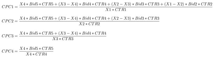 Аукционы рекламных систем – формулы VCG-аукциона