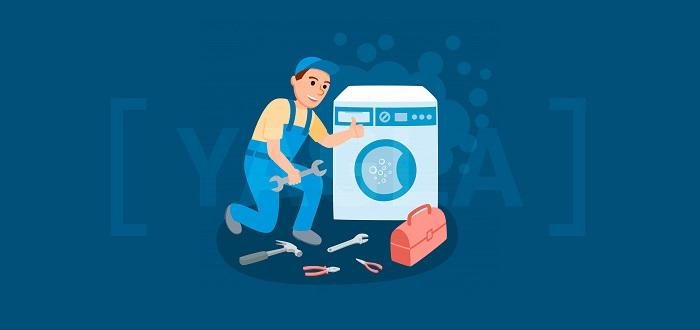Кейс мастерской по ремонту стиральных машин