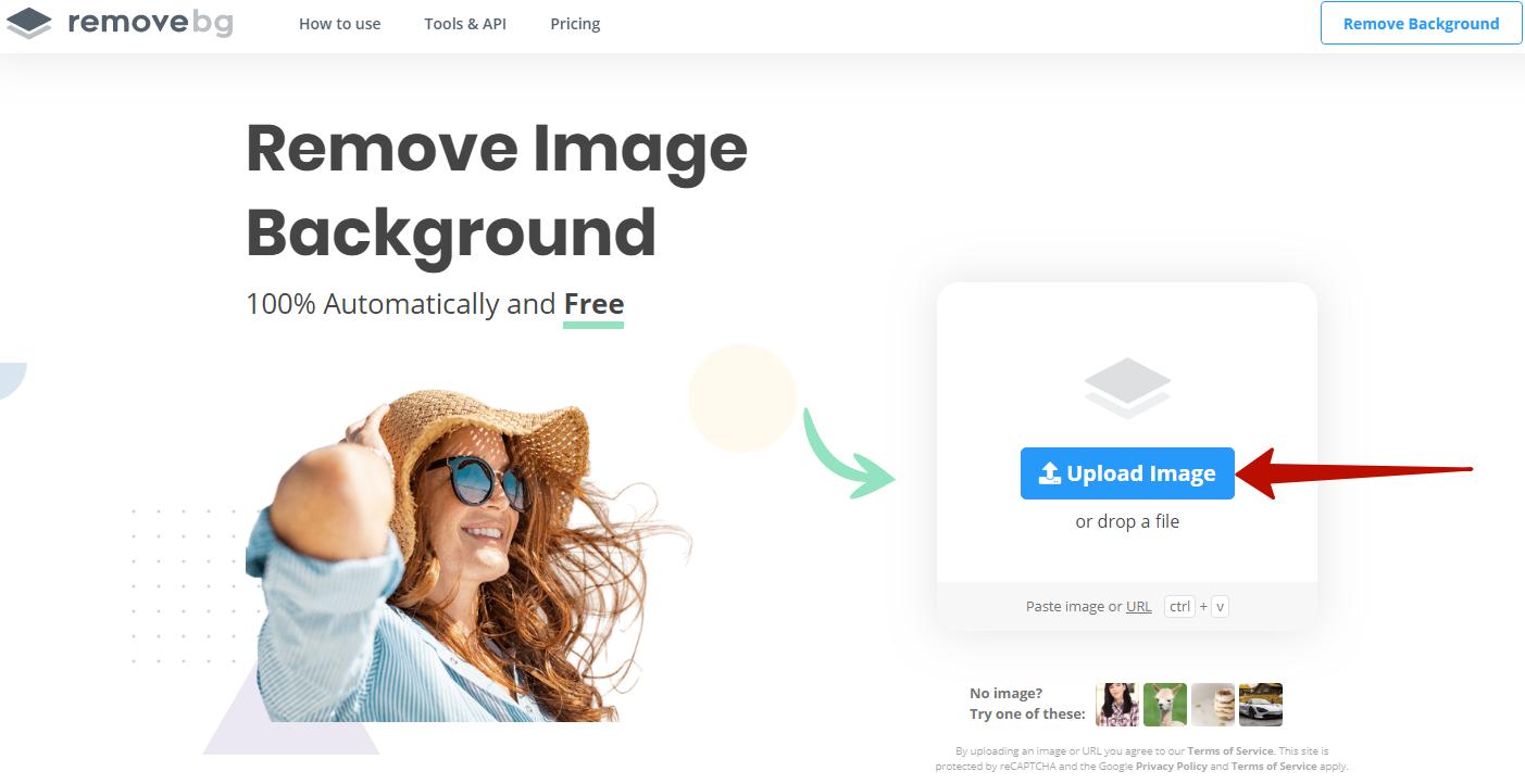 Подбор изображений в контекстной рекламе – сервис Remove Image Background