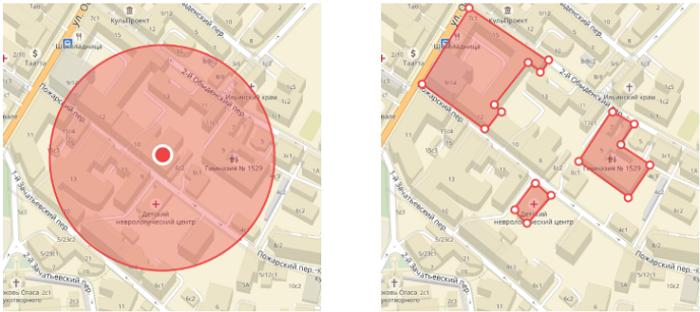Кейс с гиперлокальным таргетингом – варианты выбора локации в Яндекс.Аудиториях