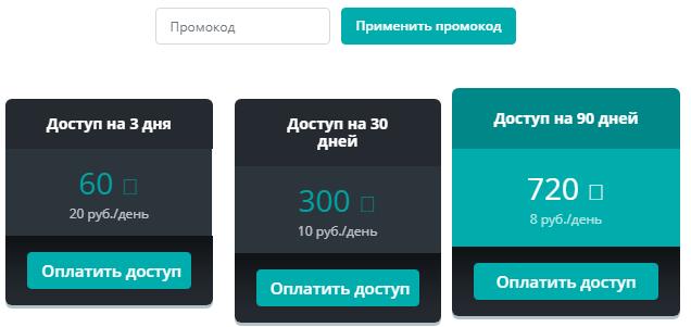 Объявления конкурентов Яндекс.Директ – расценки в AdvSpider